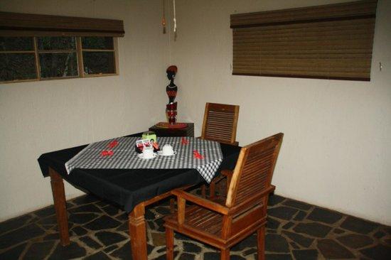 Blyde River Wilderness Lodge: Salle à manger