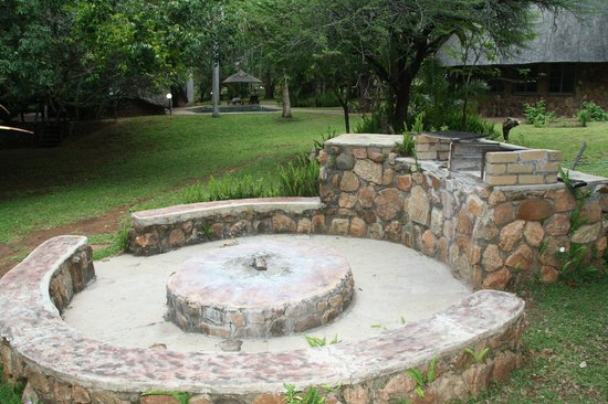 Blyde River Wilderness Lodge : Braai