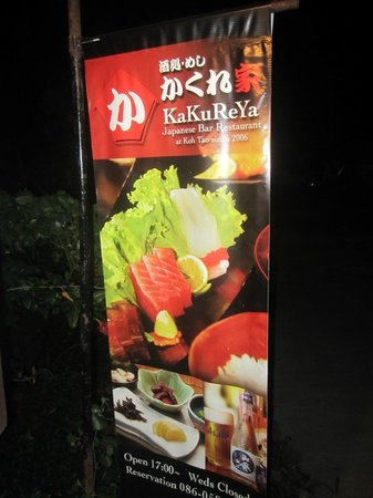 KaKuReYa, Japenese Restaurant