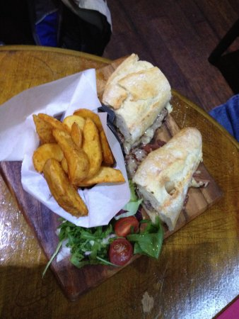 The Centre Page: Steak Sandwich