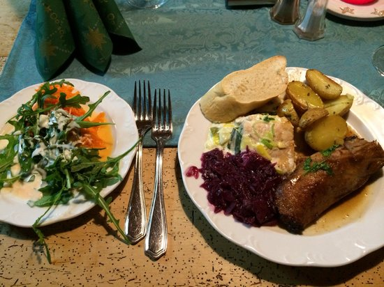 Hotel Schmelmer Hof : Abendessen