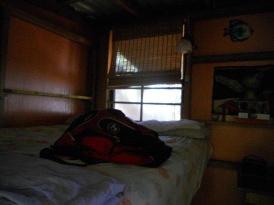 Casa Iguana: The bed in the cabana