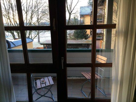 Hotel Schmelmer Hof : Balkon