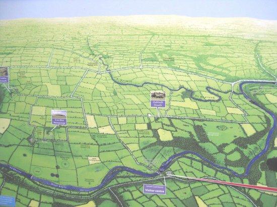 Map of Bru na Boinne