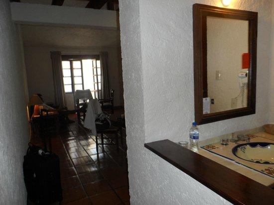 Hotel Villablanca Huatulco : entrada de la habitacion