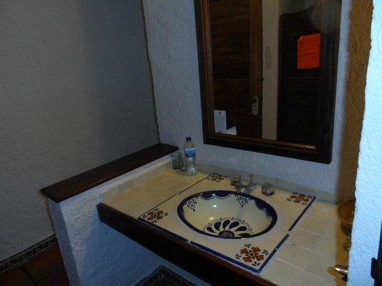 Hotel Villablanca Huatulco : lavabo