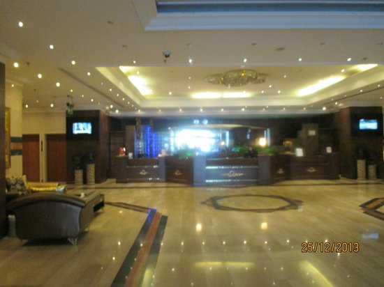 Abjar Grand Hotel: reception