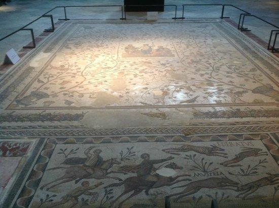 Musée National du Bardo : Mosaico a pavimento