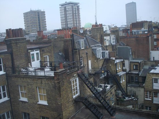 Piccadilly Backpackers Hostel: Vista do quarto