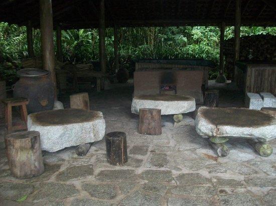 Inkaterra Machu Picchu Pueblo Hotel: Lugar de la ceremonia del te