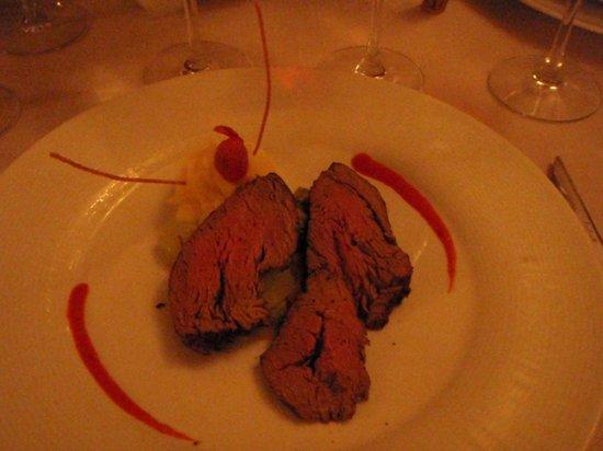 Barcelo Bavaro Beach - Adults Only: el chateubriand en Chez Gourmet