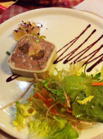 Le Freiberg : Délicieuse terrine maison au foie gras