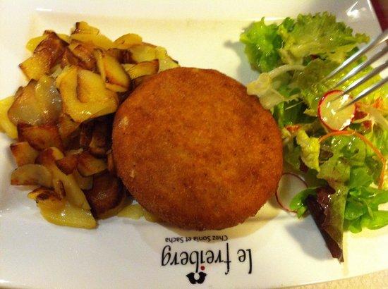 Le Freiberg : Munster frit ...