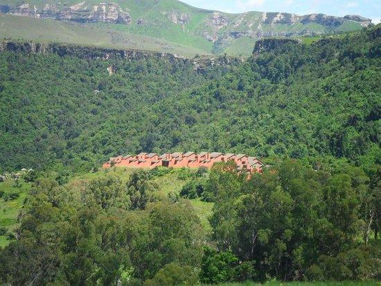 Little Switzerland Hotel: View of hotel