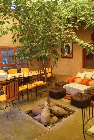 Dar Tougga : La salle à manger