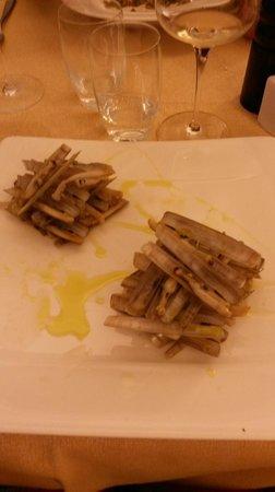 Tavernetta A Scuea: capelunghe alla griglia