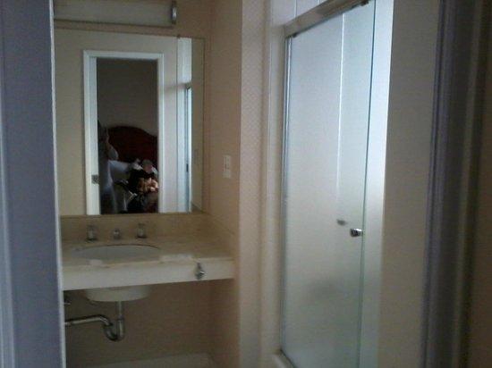 Hotel Beresford: banheiro