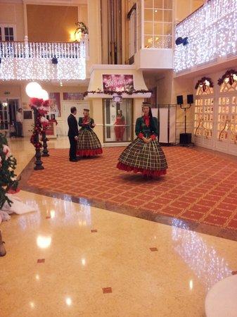 Gardaland Hotel : hall