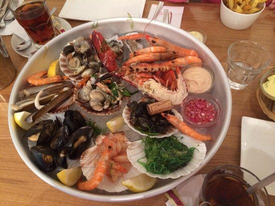 The Seafood Bar : 47евро