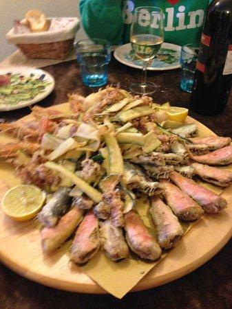 Al Fureghin: Prawns and fish