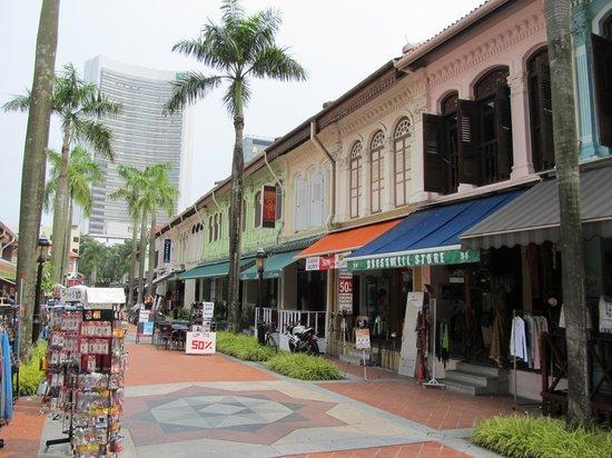 Kampong Glam : Arab Street scene