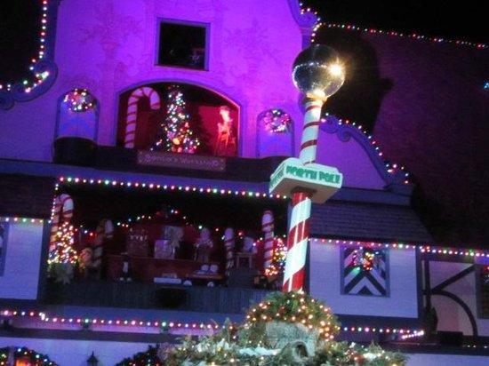 north pole village christmas town busch gardens williamsburg va - Busch Gardens Christmas Town Discount Tickets