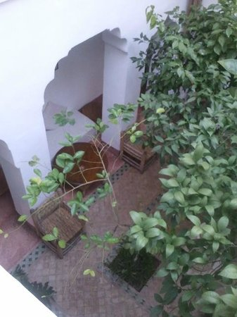 Riad Dar El Kharaz: Vista Patio