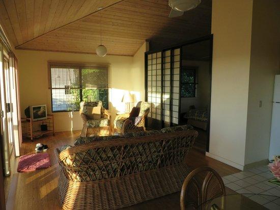 Poipu Plantation Resort: Living room