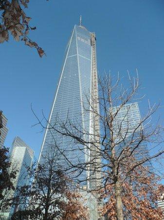 National September 11 Memorial und Museum: memorial tower