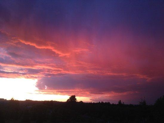 Beautiful Sunset at Trinity Vineyards