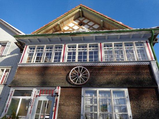 Gästehaus zum Webstuhl: facade