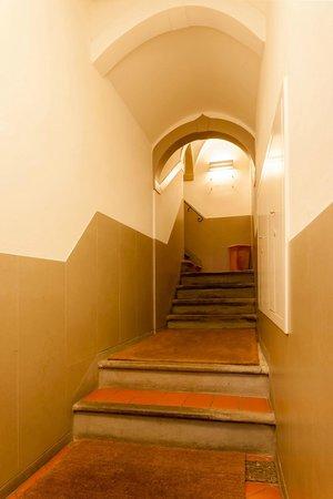 เซตเต อังเจลี รูมส์: Entrance ground floor