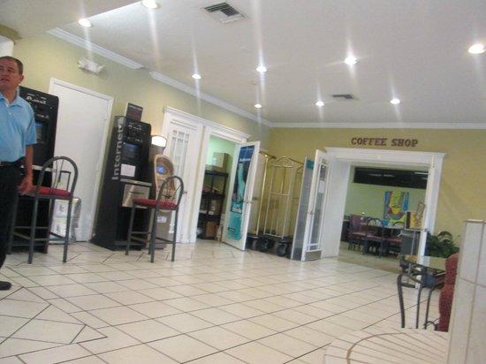 Orlando Continental Plaza Hotel: hall