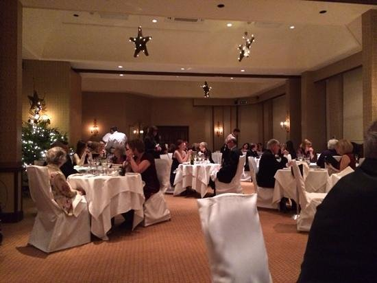 Careys Manor Hotel & SenSpa: Gala Dinner, Boxing Day 2013