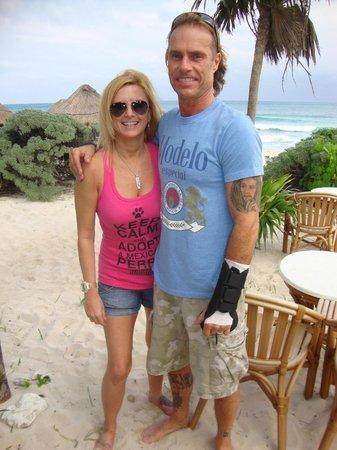 Valentin Imperial Maya: Chris & Debi 1st day at VIM
