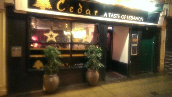 Cedar A taste of Lebanon : Cedar