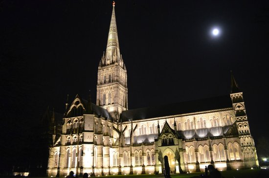 Salisbury Cathedral and Magna Carta: Salisbury Cathedral è maestosa