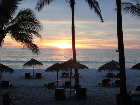 The Surin Phuket: Sonnenuntergang