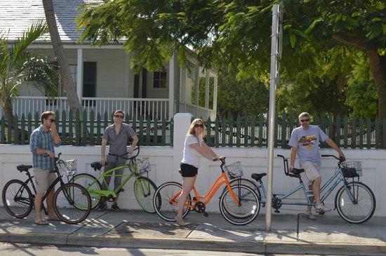 key west bike rentals reviews