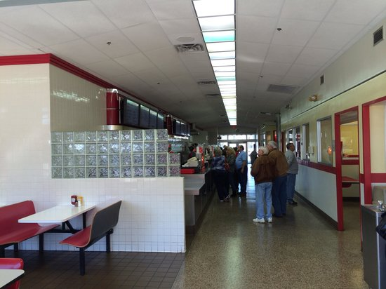 The Varsity Athens: Walking in.