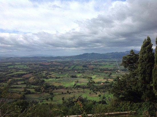 La Locanda nel Cassero : View from Civitella Marittima