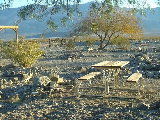 Panamint Springs Resort: No excesses desert camping