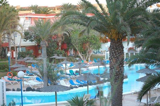 Hotel Fuerteventura Playa: vista a la piscina