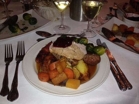 The Mill House Hotel and Restaurant: Christmas Day Lunch 2013