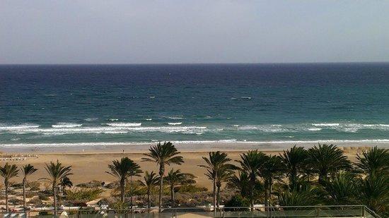 SBH Costa Calma Palace : Der Strandblick aus den 8 Stock