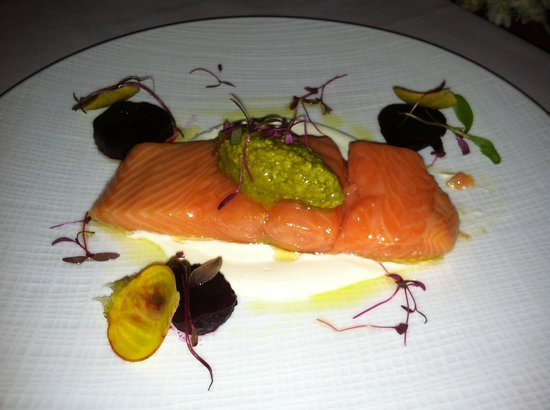 Orchids: Poached Salmon
