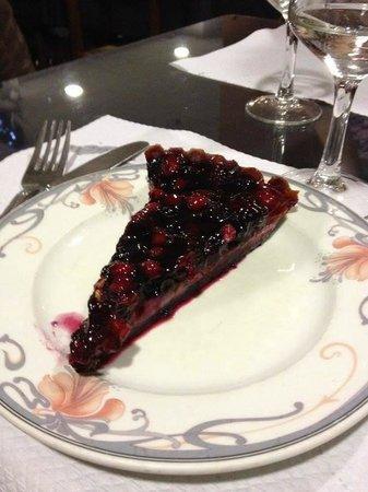 Restaurant d'Angleterre: torta