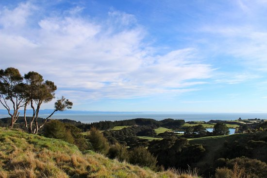 The Farm at Cape Kidnappers : view from the Ridge Suite