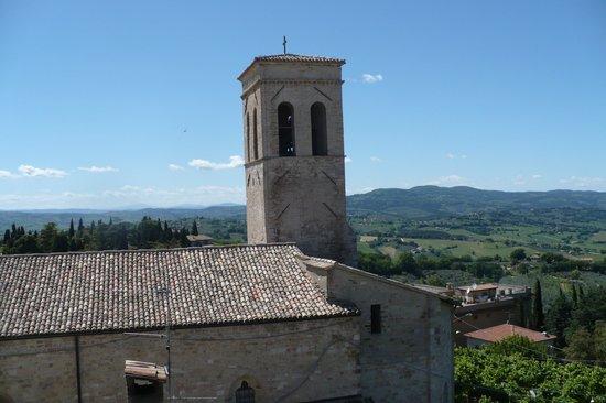 Hotel Degli Affreschi : desde la ventana de la habitacion