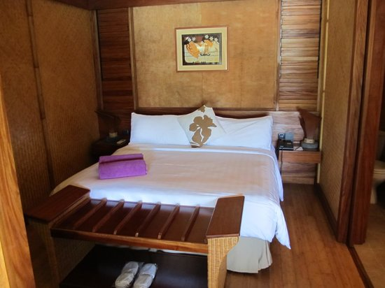 InterContinental Moorea Resort & Spa : Bedroom